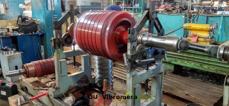 Electric motors rotors balancing