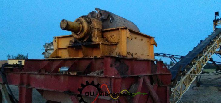 Crushers rotors balancing