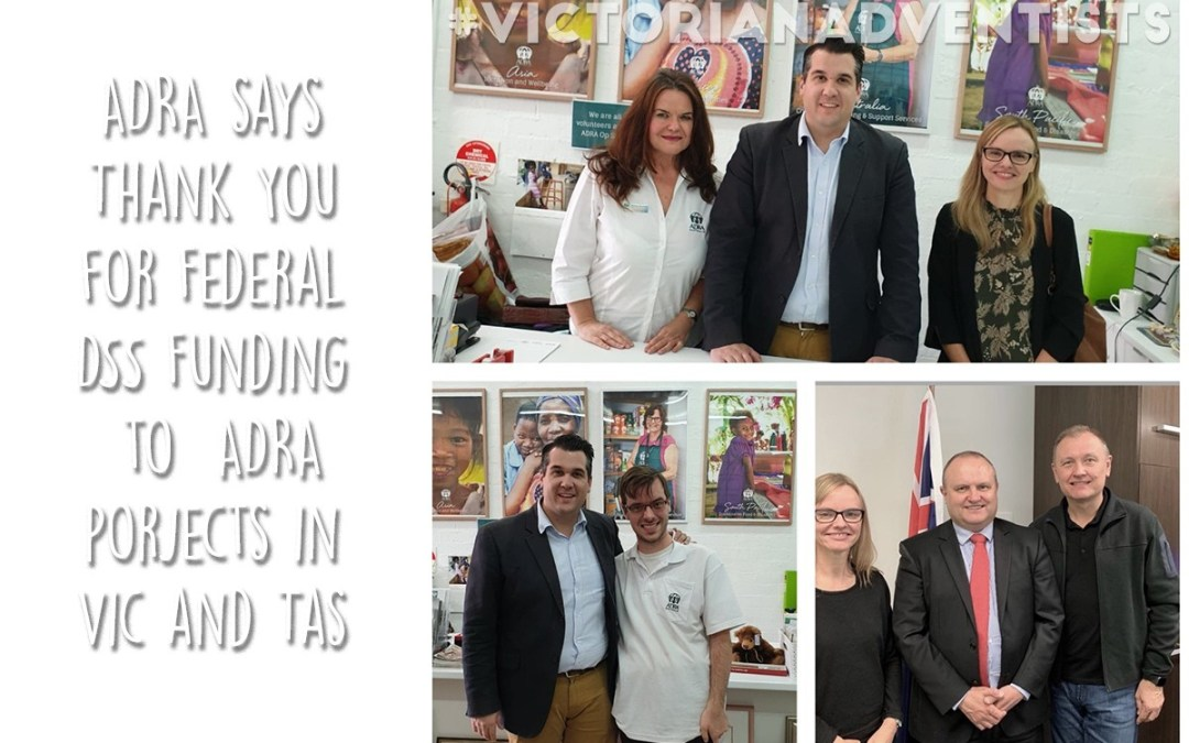 ADRA Vic Secures Federal Funding