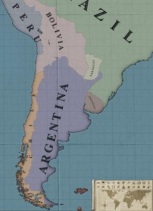 Victoria 2 Province Map : victoria, province, Uruguay, Victoria