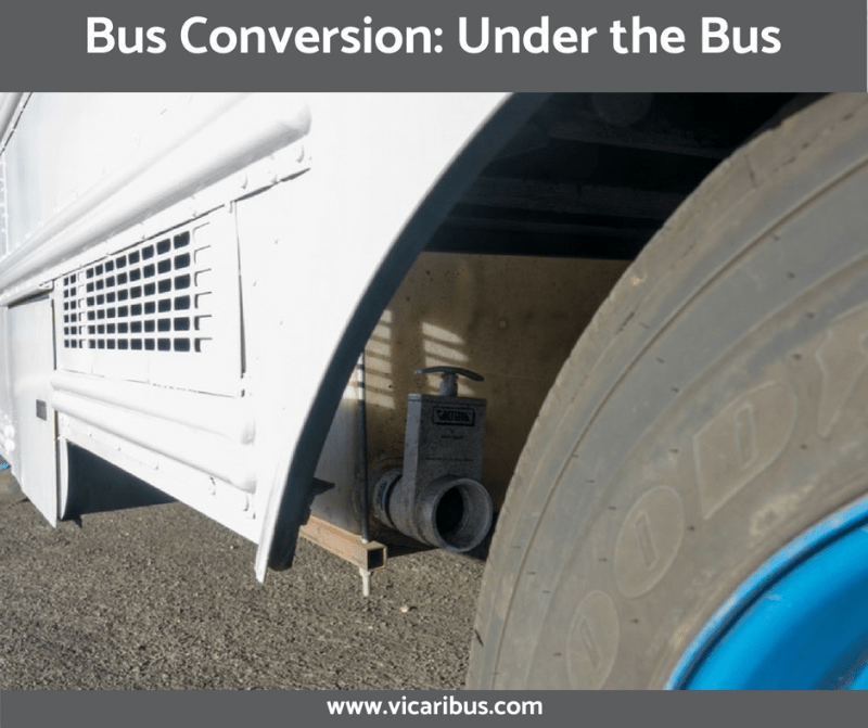 Bus Conversion: Under the Bus