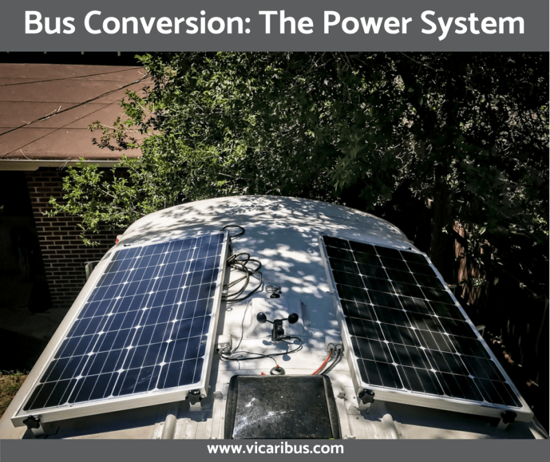 Bus Conversion: The Power System