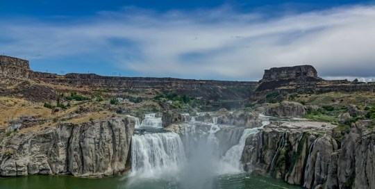 shoshone falls, waterfalls, twin falls, idaho