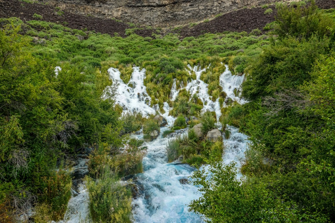 thousand springs, idaho state parks, water fall
