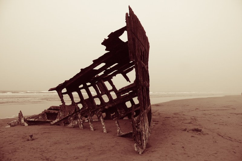 Fort Stevens Ship Wreck