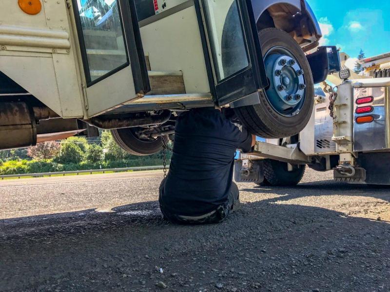 breakdown, bus towing, good sam roadside assistance