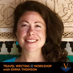 Travel Writing what3words Workshop with Emma Thomson