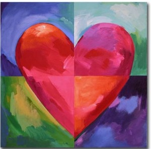 Color hearts its all about colorful love. what is the color of love? Do you know?