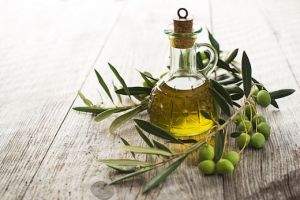 Olive oil for hair care