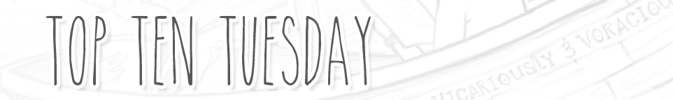 Top Ten Tuesday 4/16 | Rainy Day Reads