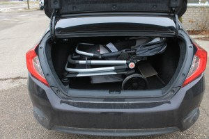 Civic Seat on frame fold