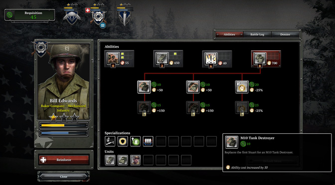 COH2 AA Company customization - Company of Heroes 2: Ardennes Assault PC review