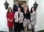 Visitando la sede de la Cámara de Comercio en Chile