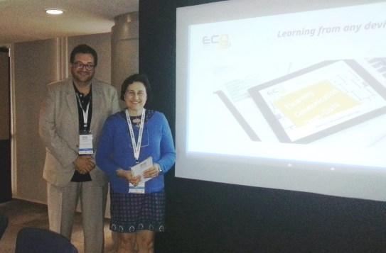 Presentación a nivel mundial del proyecto ECO en el IAMCR2014 de Hyderabad (India)
