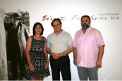 Presentacion programa de actividades del Centenario de Vicente Paredes