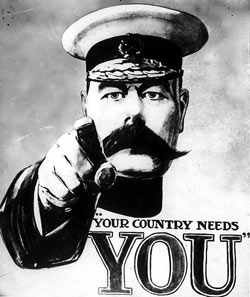 Your country needs you! But its cool if you have other plans.
