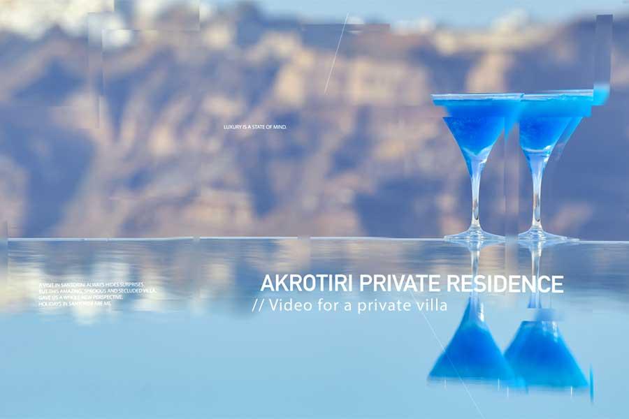 private villa video