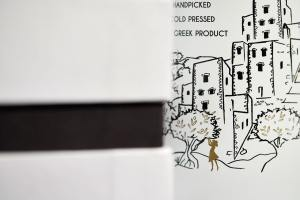 olive oil packaging photography