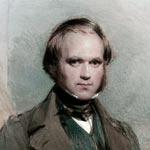 Charles Darwin Charles Darwin - portrait by George Richmond, 1840. CD, English scientist: 12 February 1809– 19 April 1882. GR, English painter: 28 March 1809 – 19 March 1896.