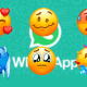Novos emojis do WhatsApp