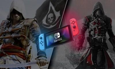 Assassin's Creed estará chegando com o Black Flag e o Rogue em Rogue Collection para o Nintendo Switch, confira o Trailer de anuncio.