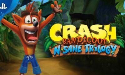 A PlayStation Espanha divulgou um teaser dos jogos da PS Plus de Fevereiro e sugeriu Crash Bandicoot N'Sane Trilogy como um dos jogos.