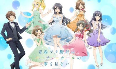 Foi anunciado o lançamneto do 10.vol de Seishun Buta Yarou. O lançamento está acompanhado de itens especiais e um PV com o elenco principal do anime.