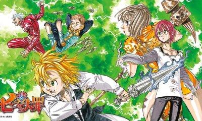 O 40º volume do mangá de Nanatsu No Taizai de Nakaba Suzuki confirmou que o mangá terminará no 41º volume, que será lançado em 15 de maio.