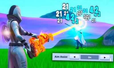 """A Epic Games confirmou que irá remover o """"Aim assist do Fortnite, uma função que de acordo com jogadores não está funcionando correctamente."""