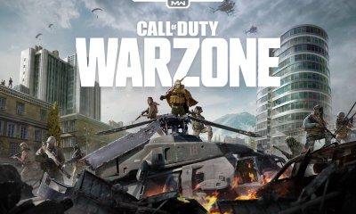 O twitch streamer xcaliz0rz está compartilhando um vídeo que mostra o mapa de Call of Duty: Warzone, Verdansk, com áreas e texturas ausentes.