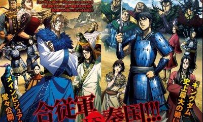 O comité de produção da 3ª temporada do anime Kingdom revelou hoje que vai adiar por tempo indeterminado a exibição do 5º episódio.
