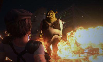 Se Nemesis não lhe transmitiu medo suficiente, esse ogro enfurecido pode. Shrek entra em Resident Evil 3 Remake graças a um mod para perseguir Jill.