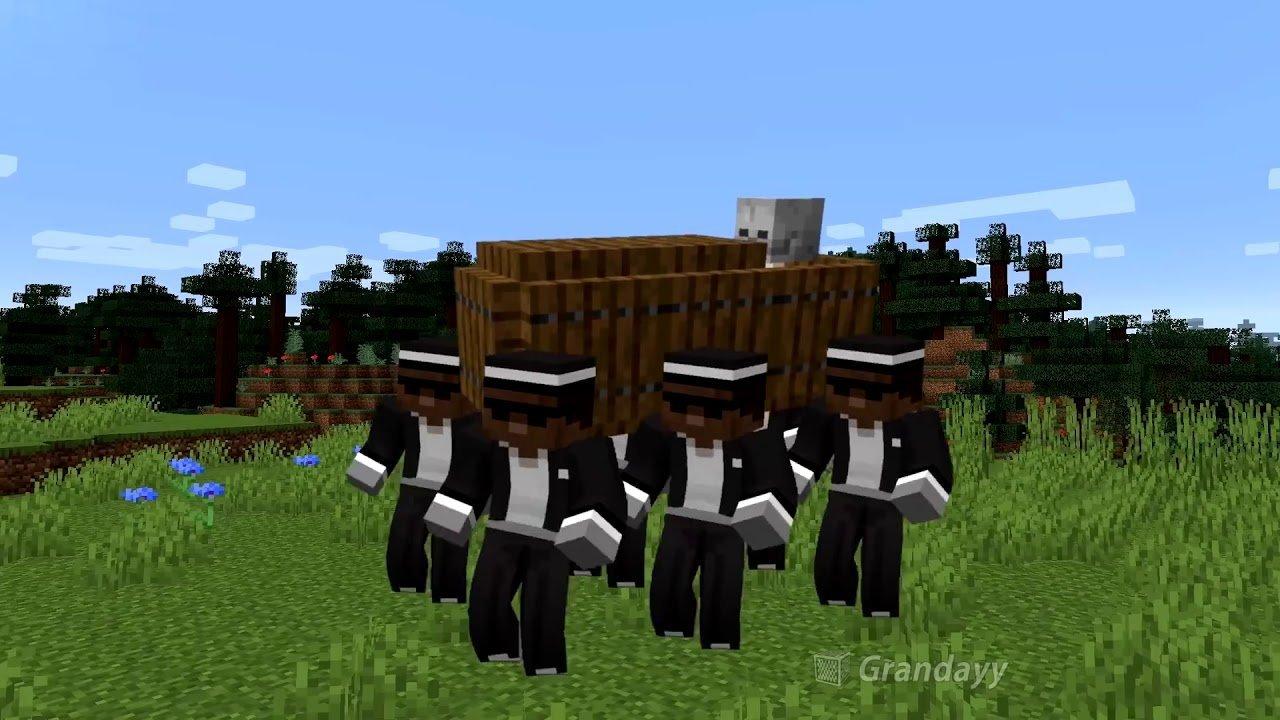 Minecraft  Fã recria a música do caixão dentro do game - Viciados