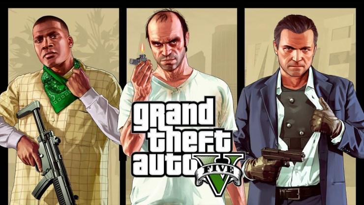 GTA 5 vai ser lançado em 2021 para PlayStation 5 e Xbox Series S/X.