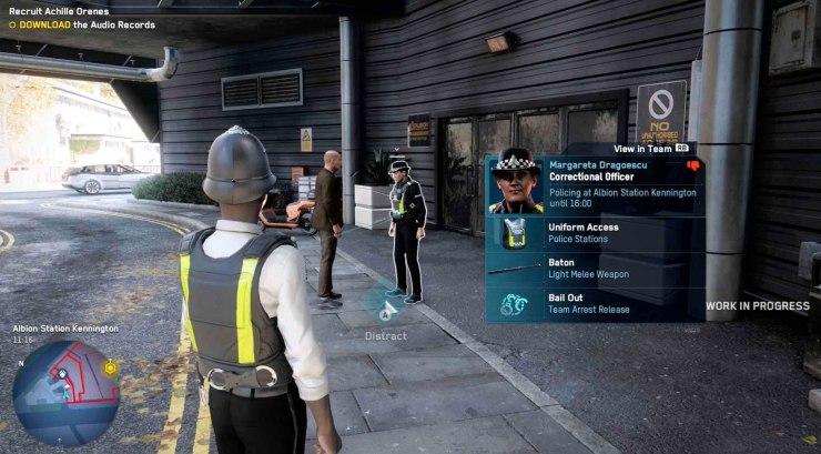 Imagem vazada da gameplay de Watch Dogs Legion