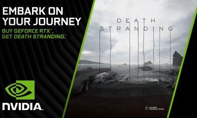 A Nvidia anuncio que estará uma cópia digital do jogo Death Stranding a todos que comprarem produtos da linha RTX.
