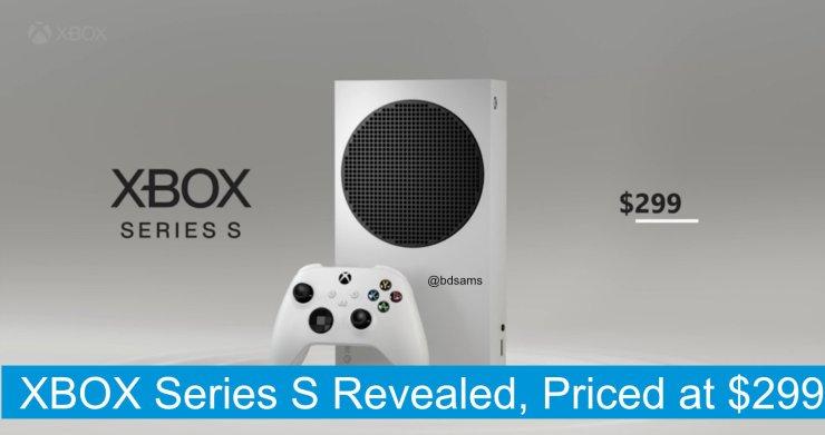 Este é o suposto design que vários leakers estão confirmando como sendo o Xbox Series S.
