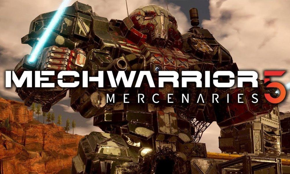 Mesmo as 200 toneladas dos incríveis gigantes mecanizados de MechWarrior 5 podem temer o Keanu Reeves de Cyberpunk 2077.