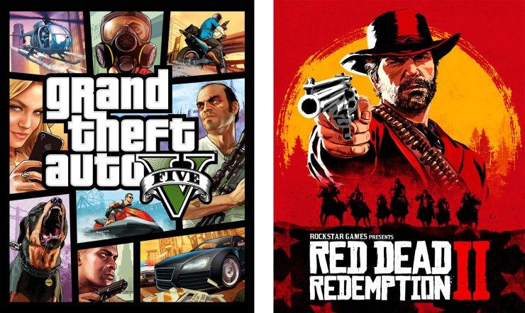 Grand Theft Auto V e Red Dead Redemption 2 da Rockstar Games serão jogáveis no PlayStation 5 e Xbox Series S e X!