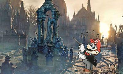 Duas franquias que são mundos diferentes, Super Mario Bros. e Bloodborne, se unem em um mashup postado por um produtor de música online.