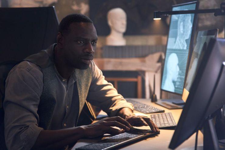 Omar Sy como Assane Diop em Lupin da Netflix