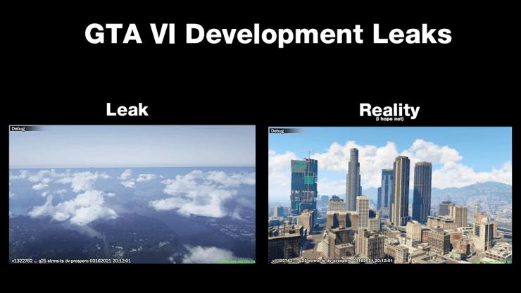 O modo de desenvolvedor de GTA 5 é muito parecido com o da suposta imagem vazada.