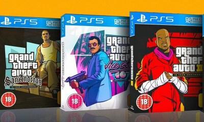 GTA: The Trilogy - The Definitive Edition é o próximo jogo da Rockstar Games, na verdade é um relançamento de GTA 3, Vice City e San Andreas.