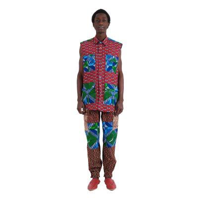 Sleeveless African Shirt For Men VDSSL6