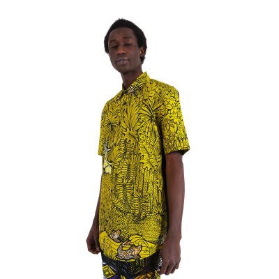 African print shirt For Men VDLSY3