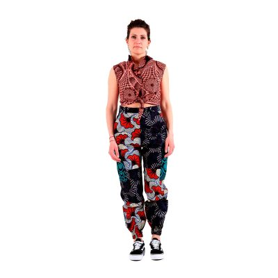 African print cargo pants VDPCD18