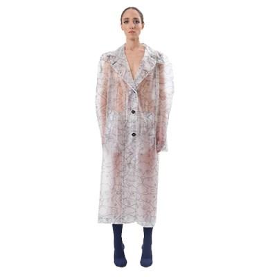 Transparent Raincoat JR309