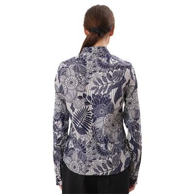 Hyeete Classic Cotton Shirt SH001-WHT/BLU