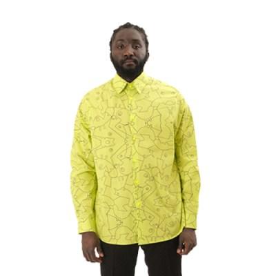 Poplin Cotton Shirt SH011-YLW