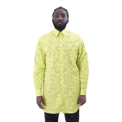 Tenten Poplin Cotton Shirt SH012-YLW